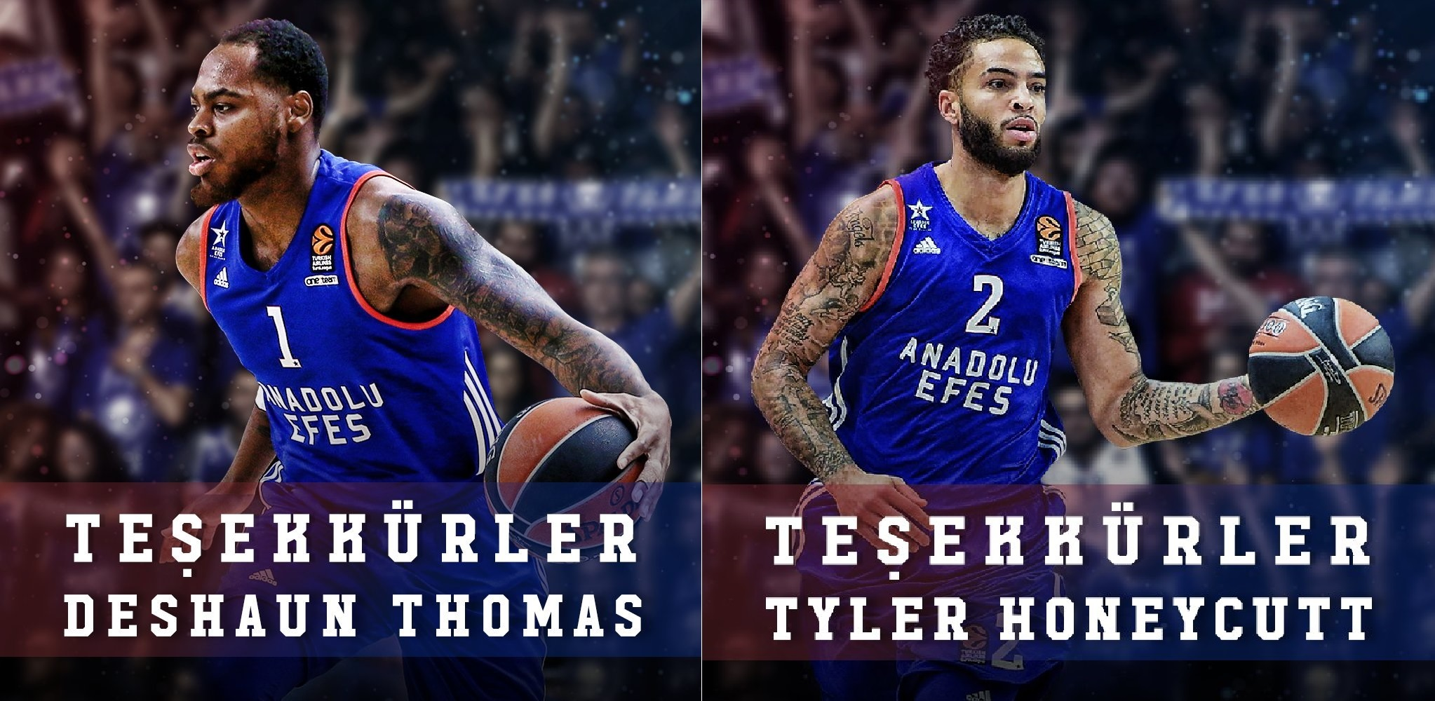 Tyler Honeycutt ve DeShaun Thomas